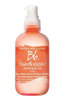 best hair oil Bumble and Bumble Hairdressers Invisible Oil