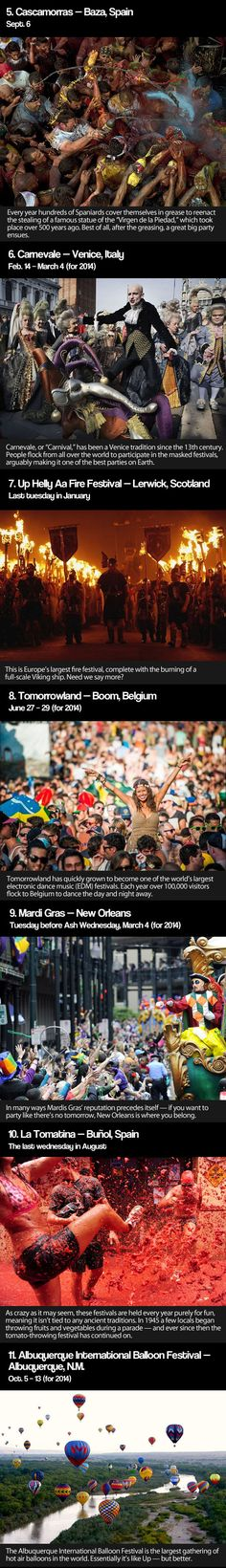 Festivals you should attend before you die... - The Meta Picture