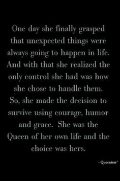 Be the queen. Yes. Lets teach our daughters to be the queen!