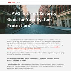 Is AVG Internet Security Good for Your System Protection?