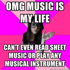 Idiot Nerd Girl Idiot nerdy girl music