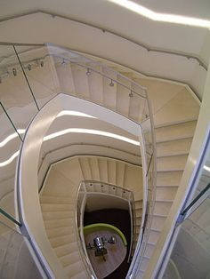 Take the stairs at Overture Center for the Arts, Madison WI