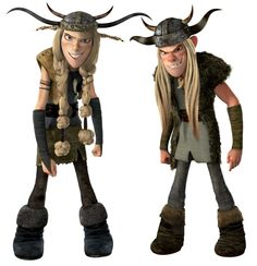""""""" How to train your dragon"""" - characters Hahaha we could go as them! @Kate Leinz I call the girl! :-P"""