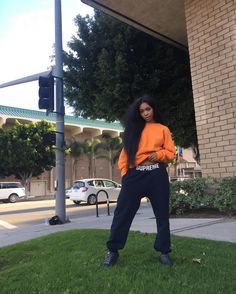 In anticipation for her upcoming album 'CTRL,' SZA shares an intimate look behin. Fashion Killa, Look Fashion, Womens Fashion, Aesthetic Fashion, Black Girl Magic, Black Girls, Black Is Beautiful, Pretty Black, Swagg