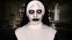 Laura Makeuptips - YouTube Valak conjuring halloween makeup