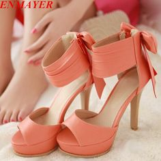 Find More Sandals Information about ENMAYER new 2015 Ankle Wrap Bowtie Thin Heels women sandals for shoes big size 34 42 Summer Wedding shoes 4 colors platform ,High Quality sandals made,China women platform sandals Suppliers, Cheap sandals pearl from ENMAYER CO., LIMITED on Aliexpress.com