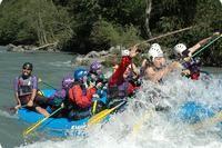 Swiss River Adventures - switzerland rafting: Rafting Upper Rhine