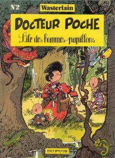 L'Île des Hommes-Papillons - (Doctor Poche 2)