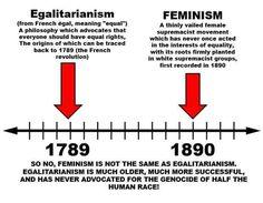Egalitarian Vs Feminism