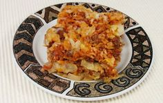 Deconstructed Stuffed Cabbage Casserole - like lasagna but healthier