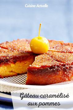 La recette du gâteau caramélisé aux pommes #cuisineactuelle #gateau #caramel #pommes Homemade Cakes, How To Make Cake, French Toast, Breakfast, Healthy, Sweet, Desserts, Food, Apple Cakes
