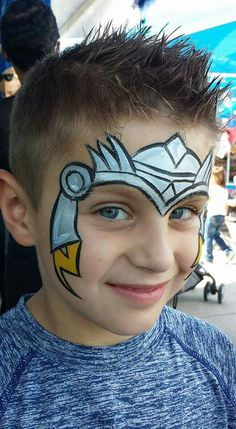 Mark Reid Thor face paint