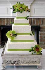 Delectable Designs - Michelle Still. She will create any style you show her, delicious cake/frosting.