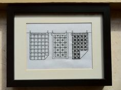 CheeKeeLee: Appliqued Teapot Tea Towel TRACES BACK TO BOOK: Sonia Lucano's Made in France Blackwork