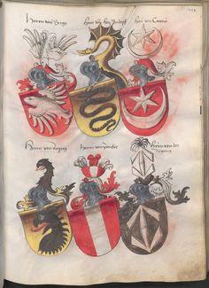 Grünenberg, Konrad: Das Wappenbuch Conrads von Grünenberg, Ritters und Bürgers zu Constanz um 1480 Cgm 145 Folio 220