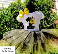 Bumble Bee Tutu Set by Tiny Toes Bowtique on Etsy, $45.00    www.facebook.com/tinytoesbowtique2010