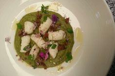 Kuzu Gnocchi with soup #gnocchi from #inthemixcookbook by #danivalent