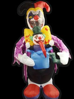 6.5ft Tall | Clown In a Box Inflatable | http://www.halloweeninflatables.com/Halloween_Inflatable_Clown_in_a_Box_p/hi-37159m.htm