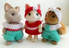 Sister Critter crochet pattern collection.  File by OnACalicoDay