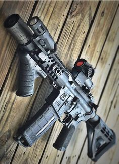 Build Your Sick Cool Custom Assault Rifle Firearm With This Web Interactive Firearm Builder with ALL the Industry Parts - See it yourself before you buy any parts Weapons Guns, Airsoft Guns, Guns And Ammo, Custom Guns, Custom Ar, Ar Pistol Build, Battle Rifle, Arsenal, Shooting Guns