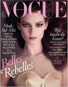 Fancygloss - Kati Nescher for Vogue Germany may 2013 cover