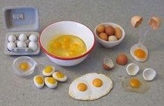 Huevos en miniatura   -   Miniature Eggs                                                                                                                                                                                 Más