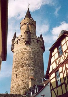 Friedberg Germany Castle Near Ray Barracks US Army - I lived near this for 2 years (in Ray Barracks before it was closed) And I was told this is the Rapunzel tower.