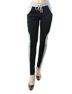 Soft Warm and Comfortable Cold Weather Two Tone Sweatpants for Women (MEDIUM, GRAY/BLACK-HP9198) Fandsway http://www.amazon.com/dp/B00PKHUTYU/ref=cm_sw_r_pi_dp_u00Gub06ZVY7Z