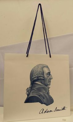 Awesome luxury cardboard carrier bags for Adam Smith Business School