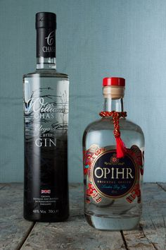 These two gins get creative on the flavour front. We highly recommend these UK brewed gins for your G&T. Pretty Packaging, Food Packaging, Packaging Design, Whiskey Bottle, Vodka Bottle, World Chef, Cocktails, Drinks, Brewing