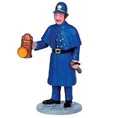 Lemax Collectibles   Caddington Village   Lemax Caddington Village Figurine Nighttime Patrol #12904 - American Sale