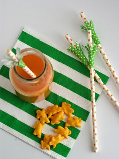 Oleander and Palm: Carrot Straws