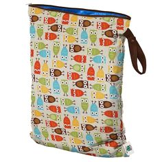 Planet Wise - Large Wet Bag - Owl
