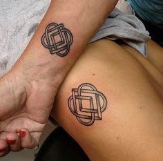 Celtic family love knot ~ mother daughter tattoo❤️