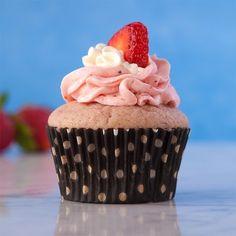 Strawberry Strawberry Cupcakes, Gluten Free | Gluten Free Canteen