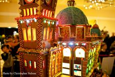 19th Annual Gingerbread Village Sheraton Hotel, Downtown Seattle