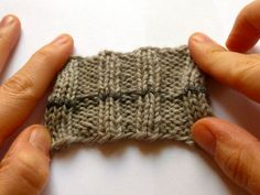 How to Kitchener (graft) in a rib pattern