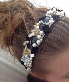 D inspired headband. DIY at my blog: mrsgypsy.wordpress.com