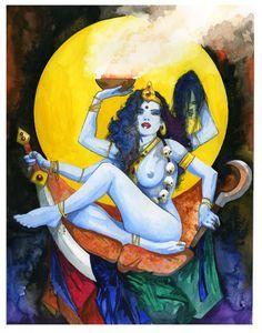 goddess kali beautiful - Google Search