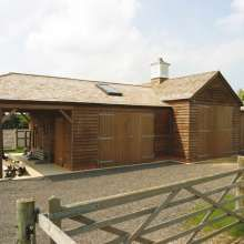 Stable and barn