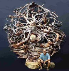 driftwood art! amazing work!