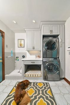 Who says a dog can't dream? These 15 beautiful homes belong to people, of course, but clearly they're people who love their pets. Each one has found some way to add a special touch in their impeccable homes for Fido or Kitty. If your dog had a Pinterest board, this is what it would look like.