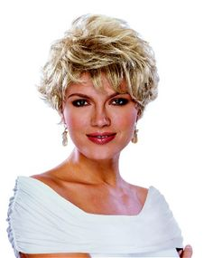 Elizabeth Wig by Paula Young : Ladies / Womens Wigs: Natural Image