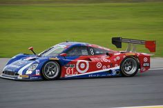Chip Ganassi Racing 01 at speed