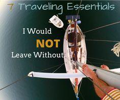 Travel Essential List For The Adventurer
