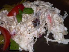 Maso bez kůže povaříme v nálevu doměkka, obereme do misky, přidáme nakládanou zeleninu (pokud v ní není mrkev, povaříme spolu s masem). Přidáme...