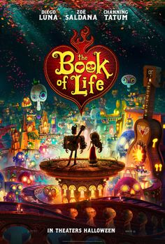 The Book of Life is on our must see in theaters list for sure!! Loved the trailer for it. @ncanderson1 guess who's hubby is a voice in it!!