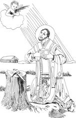 st valentine coloring pages catholic church   64 Best Feast of Saint Valentine images   Saint valentine ...