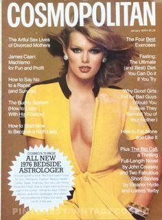 Cosmopolitan, JANUARY 1976 Model: Patty Hansen Photographer: Francesco Scavullo