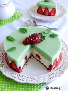 Sweets Cake, Cupcake Cakes, Pavlova Cake, How To Make Marshmallows, Polish Recipes, Food Cakes, Desert Recipes, Christmas Desserts, No Bake Cake